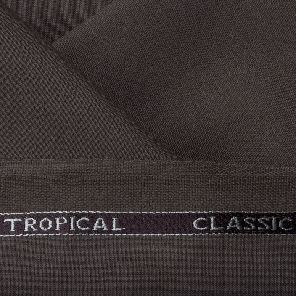 Medium Brown Plain Tropical Classic