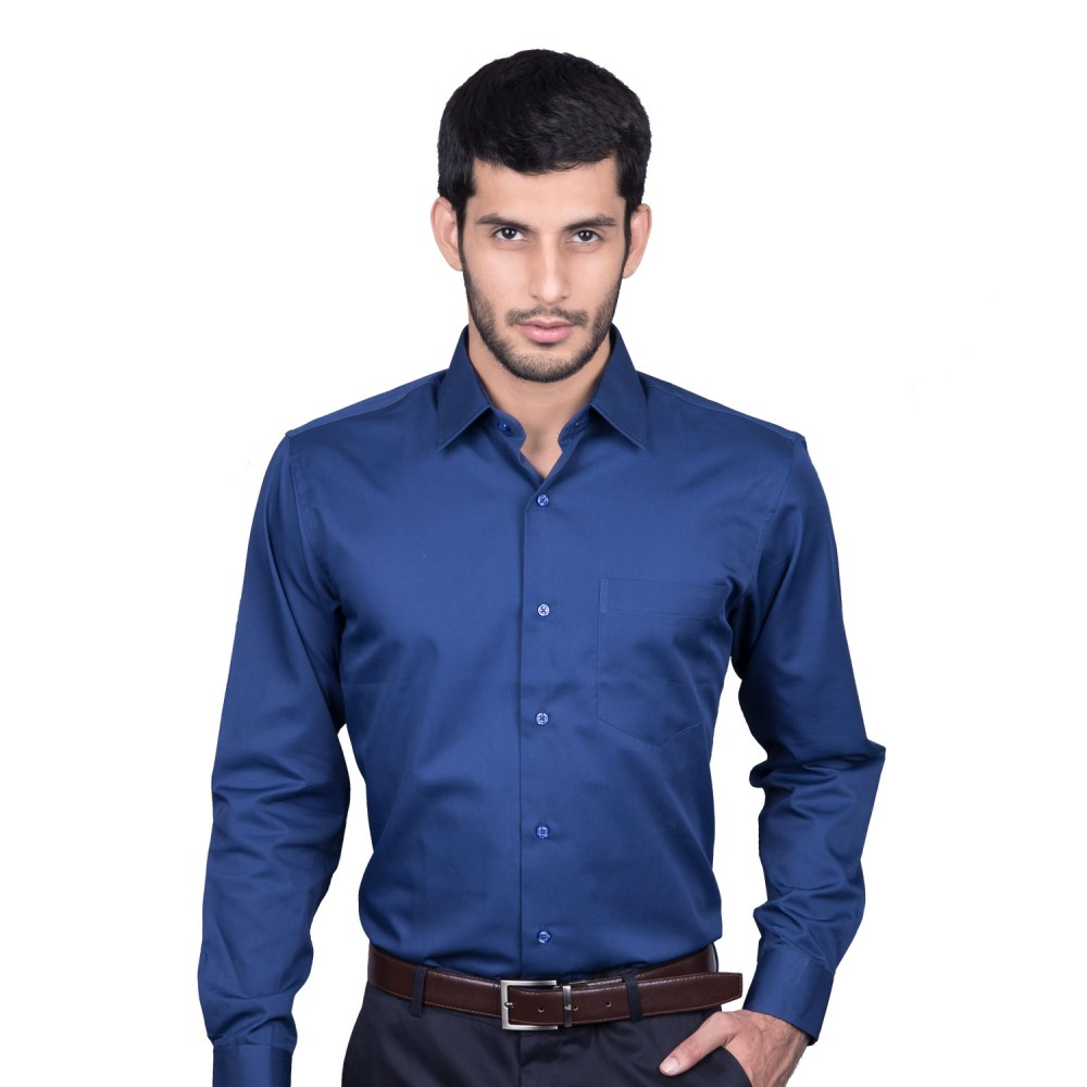 Shirt - Delta D. Blue Plain