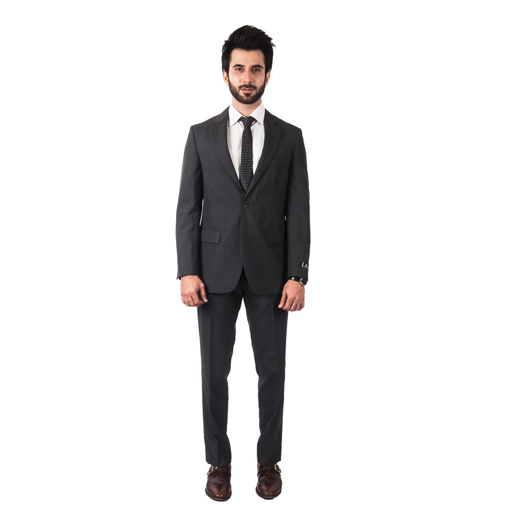 Suit Tropical Classic (P) Dark Grey Plain - Regular