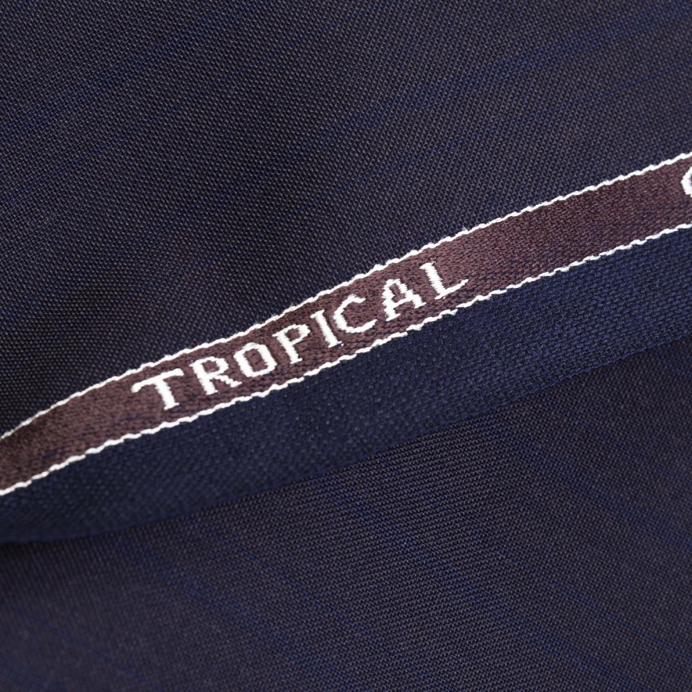 Brownish Blue Stripes Tropical Classic (D)