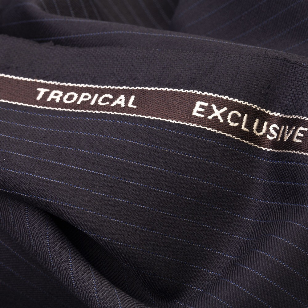 Dark Blue Pinstripe Tropical Exclusive