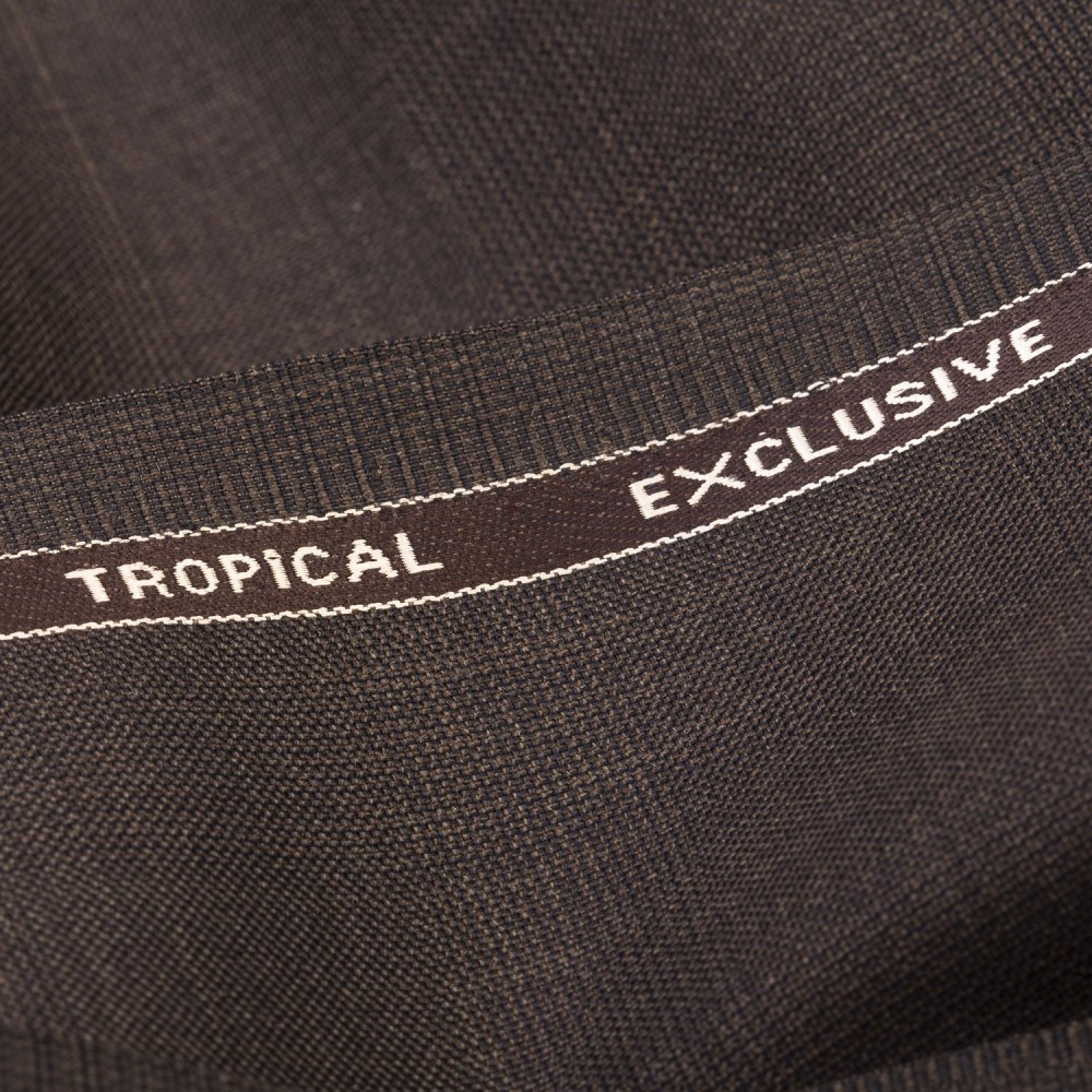 Dark Brown Self Check Tropical Exclusive