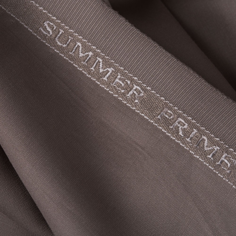 Plain Beige Summer Prime Fabric