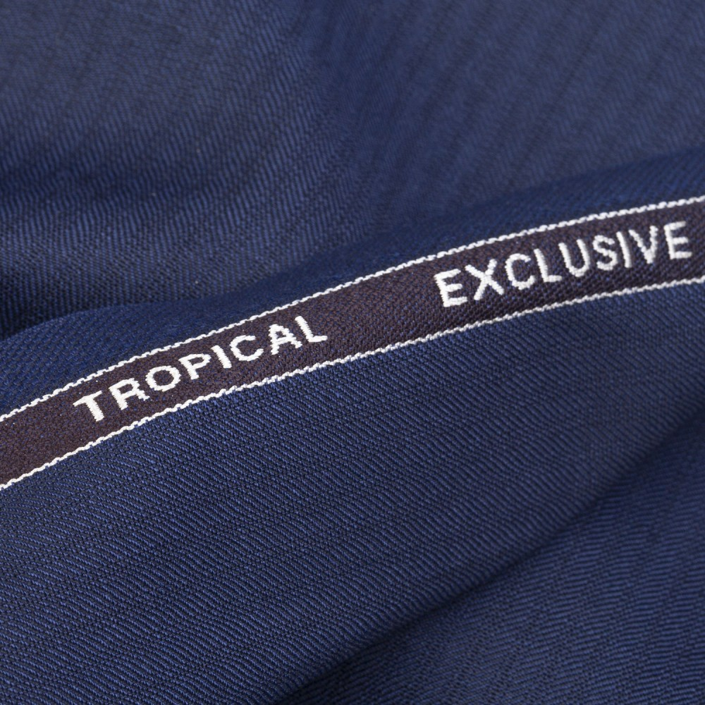 Light Yale Blue Textured Tropical Exclusive (D)