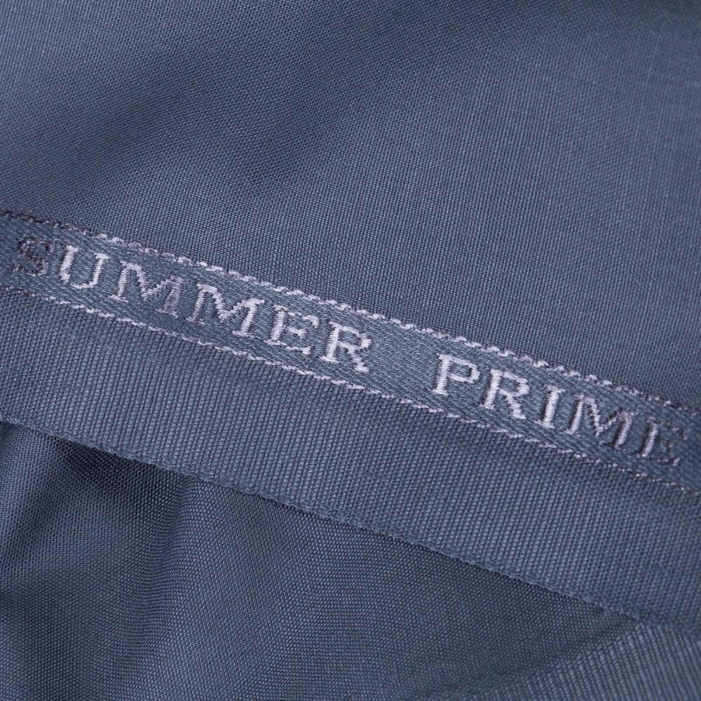 Plain Grayish Blue Summer Prime