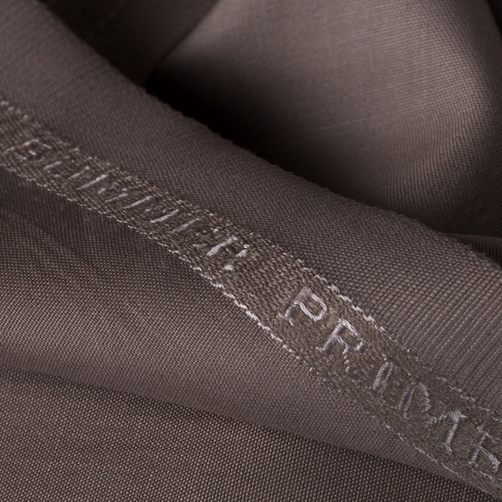 Plain Dark Brown Summer Prime Fabric