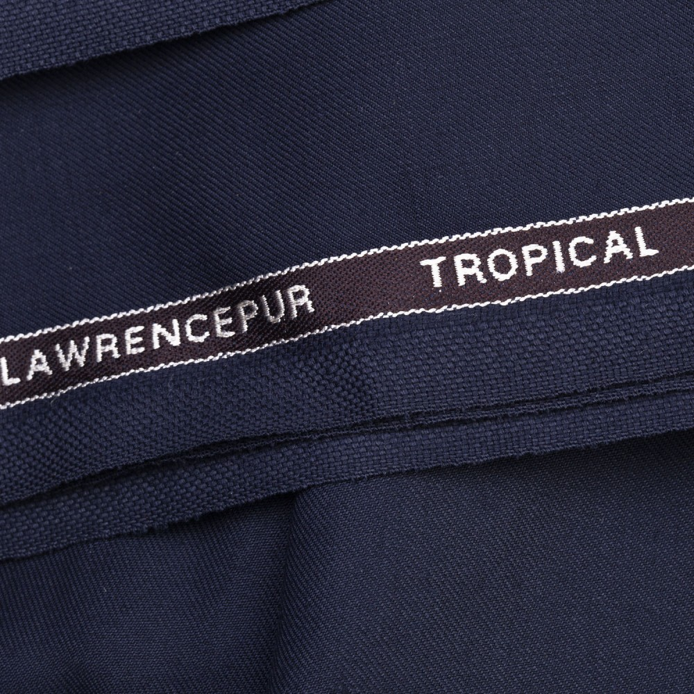 Navy Blue Plain Tropical Exclusive
