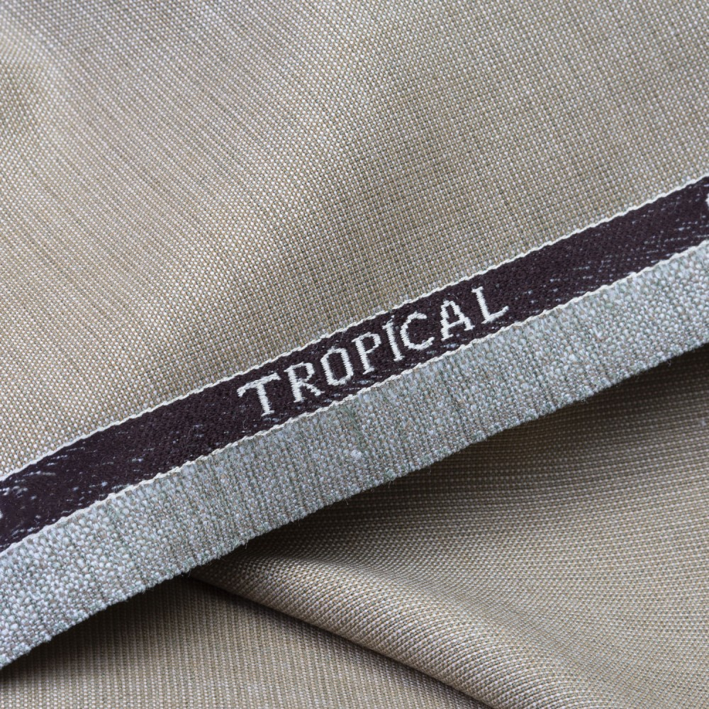 Light Golden Brown Textured Tropical Classic