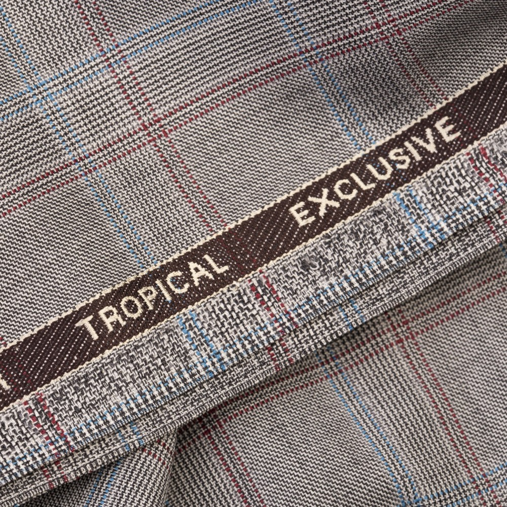 Light Grey based Multi Check Tropical Exclusive