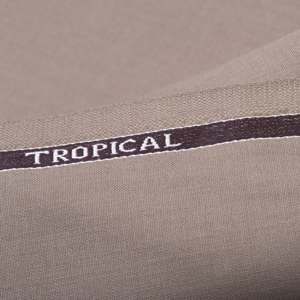 Light Brown Plain Tropical Classic