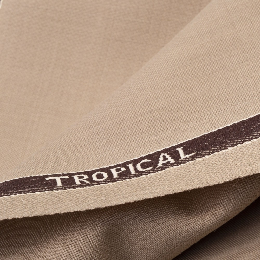 Beige Plain Tropical Classic