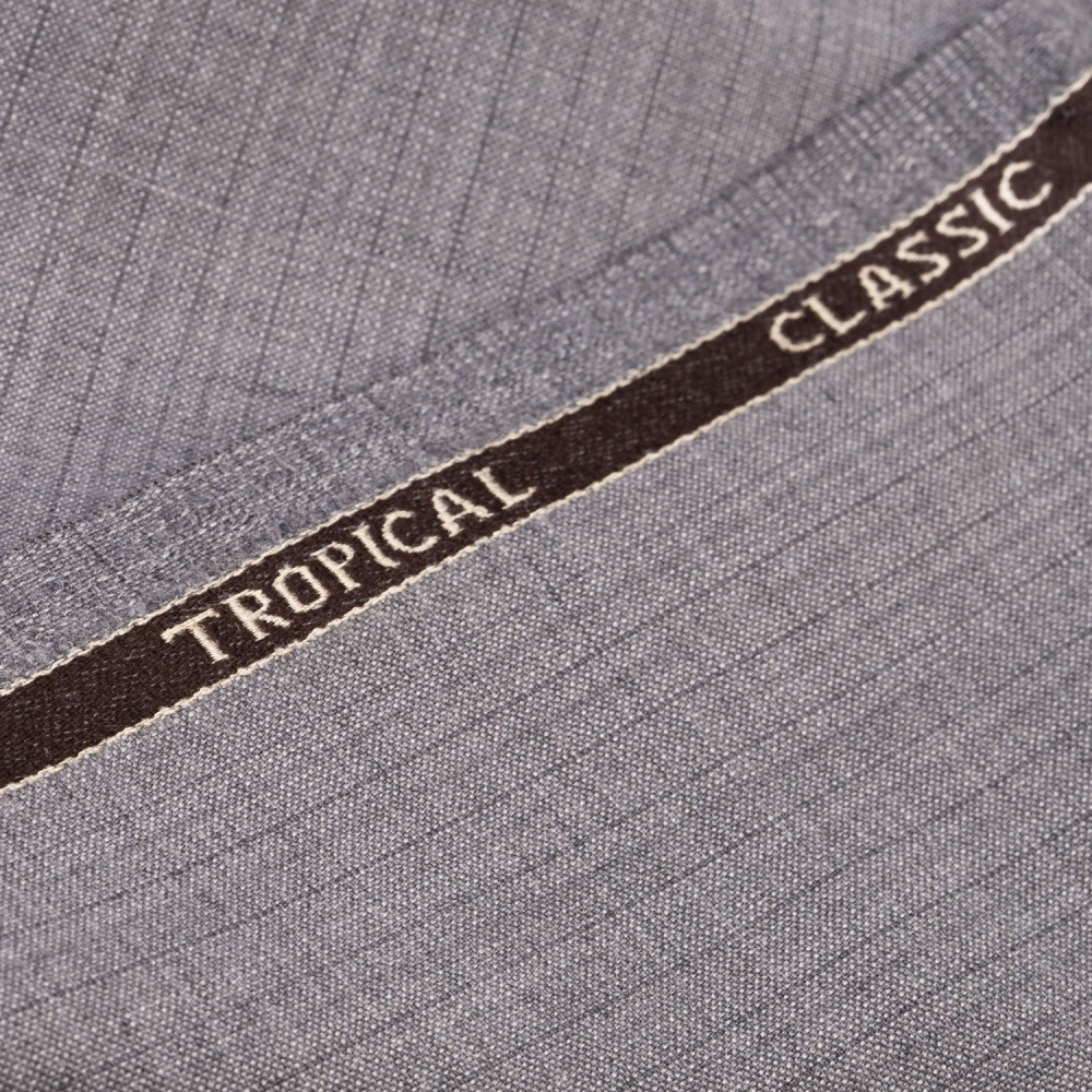 Light Grey Subdued Stripe Tropical Classic
