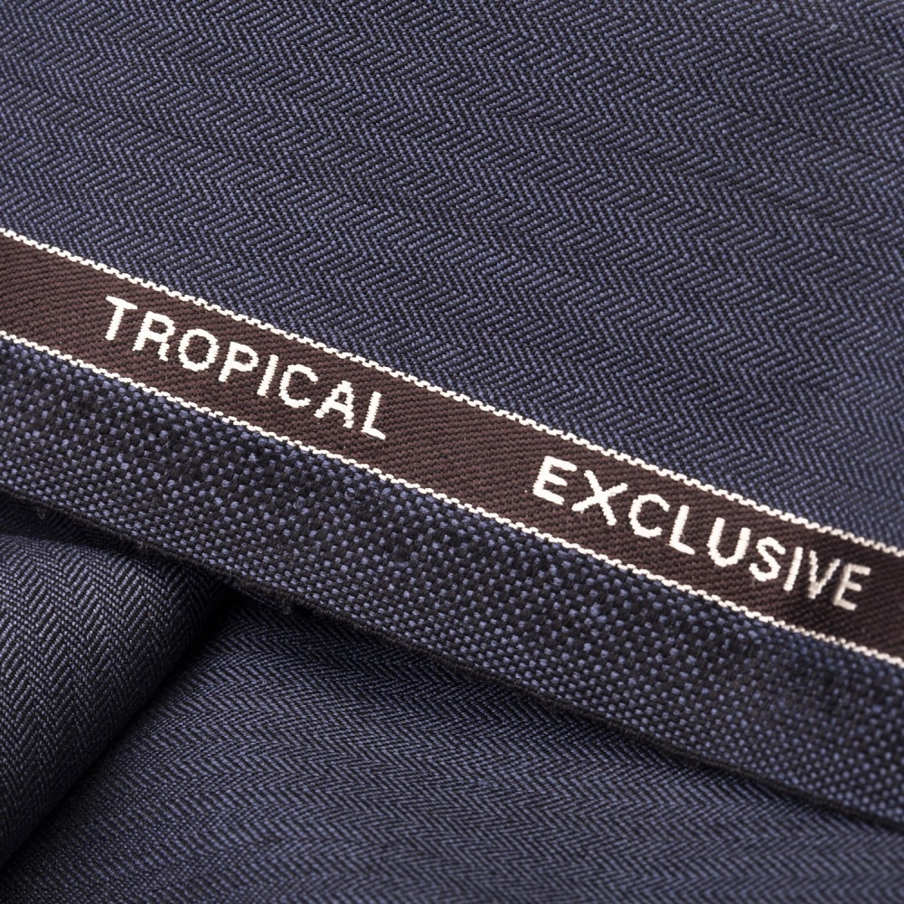 Medium Grey Textured Tropical Exclusive