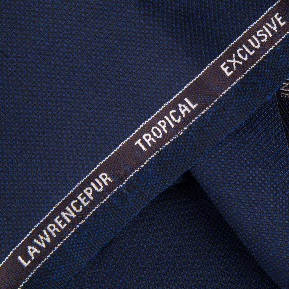 Navy Blue Textured Tropical Exclusive (D)