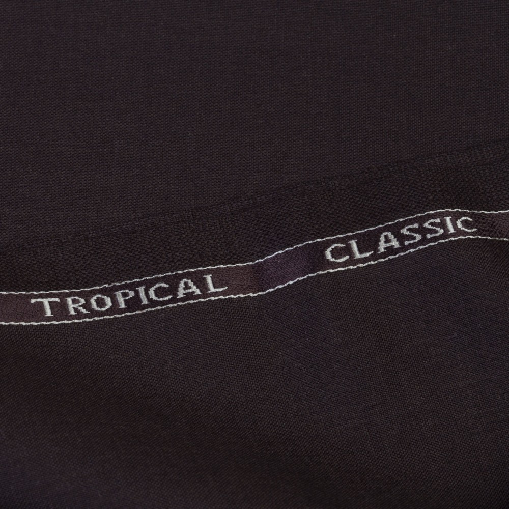 Dark Brown Plain Tropical Classic