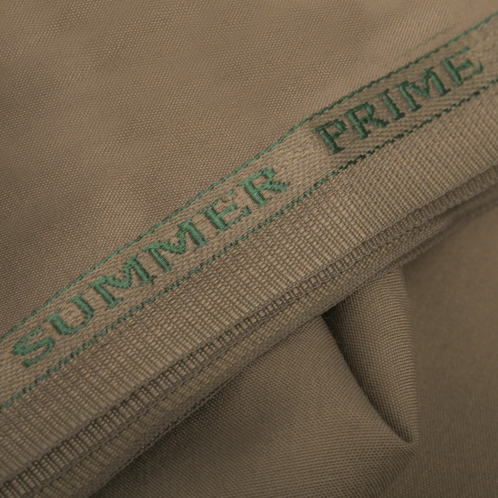 Plain-Olive Brown, Summer Prime Fabric